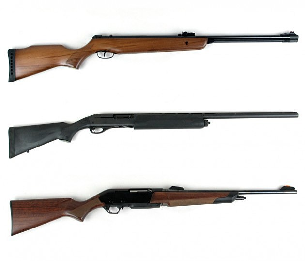 Hunting Rifles and Shotgun