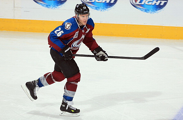 Paul Stastny #26 of the Colorado Avalanche