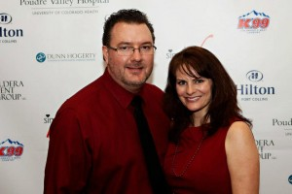 Todd & Jenny Harding at Simply Red 2013