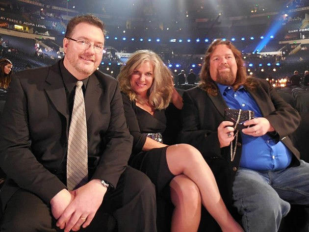 Todd, Susan, and Brian at the CMA Awards