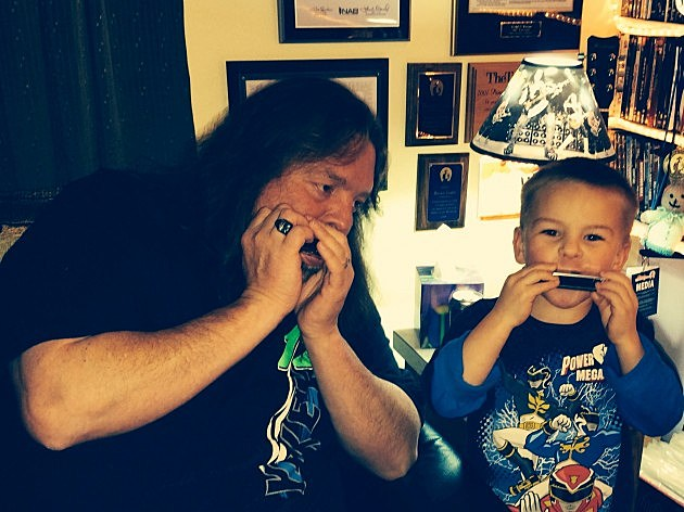 zander and papa harmonica