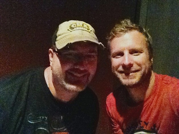 Todd Harding & Dierks Bentley at Boots In The Sand