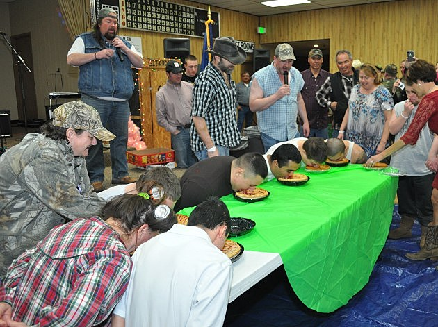 Red Neck Gala Pie Eating Contest