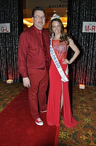 Todd with Mrs Colorado Mina Muirhead