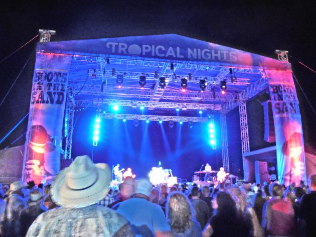 Tropical Nights Boots In The Sand Stage