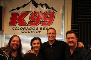 Charlie Worsham with Brian Gary, George King, and Todd Harding during 15th Annual 28 Hours of Hope
