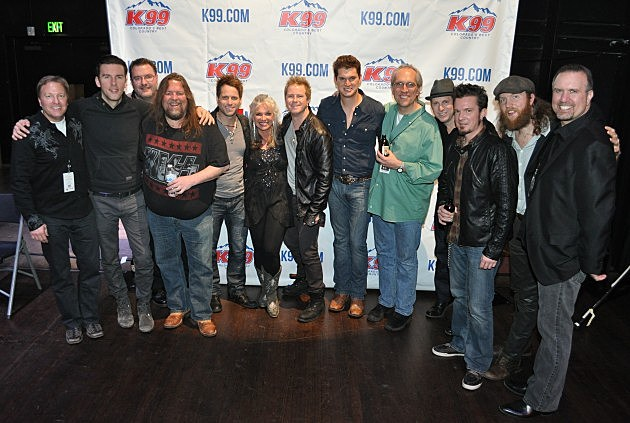 K99 Staff with Parmalee, Jon Pardi, and Brothers Osborne at VIP Party