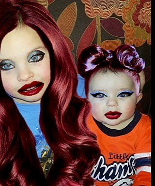 zayden and zander as girls