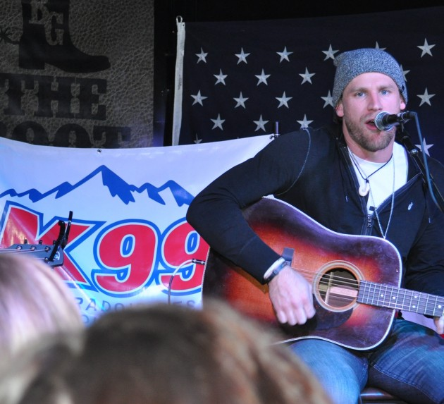 Chase Rice at Boot Grill For New From Nashville