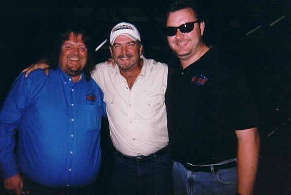 Brian & Todd with Bill Engvall at the Budweiser Events Center