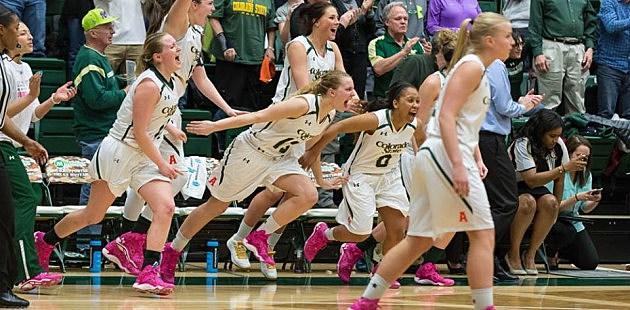 CSU Rams Women's Basketball team