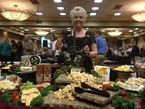 Cheese Table at Wine Fest 2014