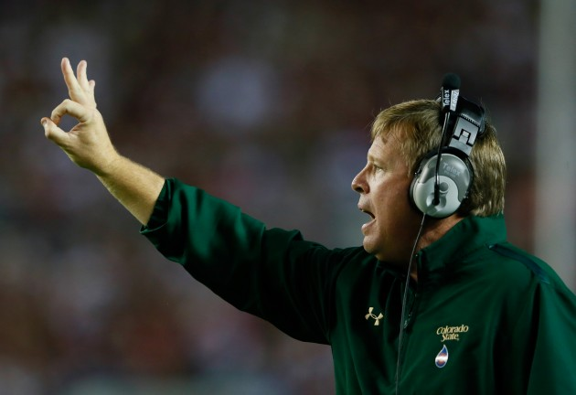 CSU Head Football Coach Jim McElwain