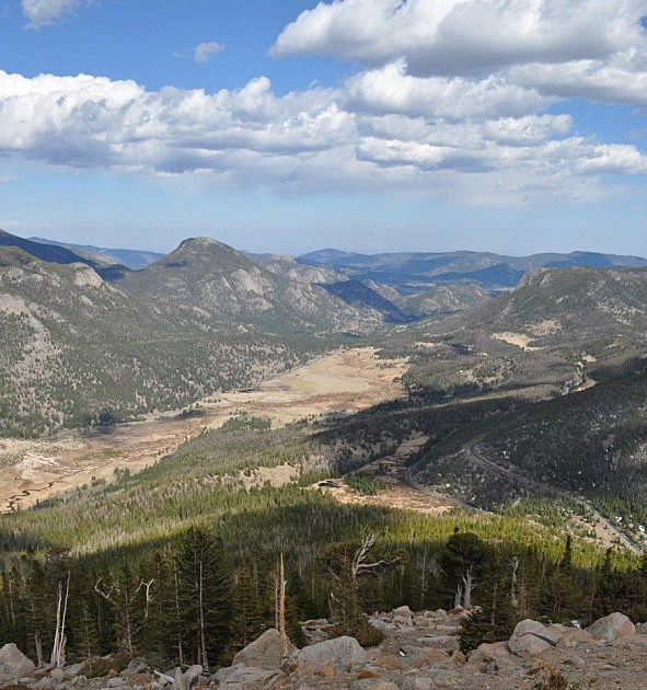 Rocky Mountain National Park from Trail Ridge Road