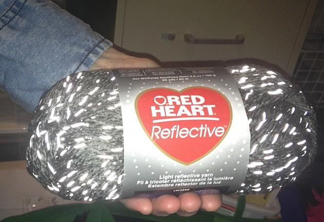 Reflective Red Heart Yarn