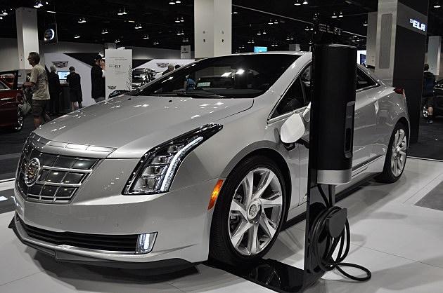 Cadillac ELR Electric Car at Denver Auto Show
