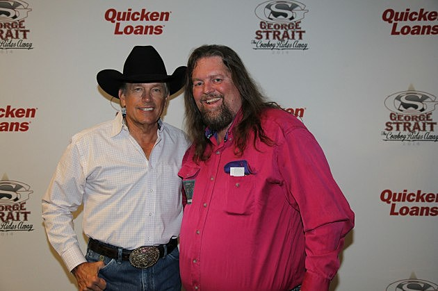 Brian and George Strait