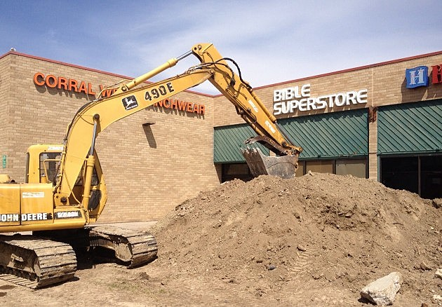 Construction has begun on The Square in Fort Collins