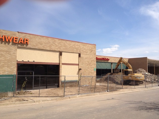 Construction has begun on Trader Joe's at The Square in Fort Collins