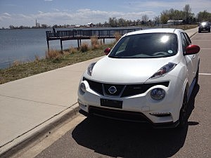 Todd is driving the 2014 Nissan Juke