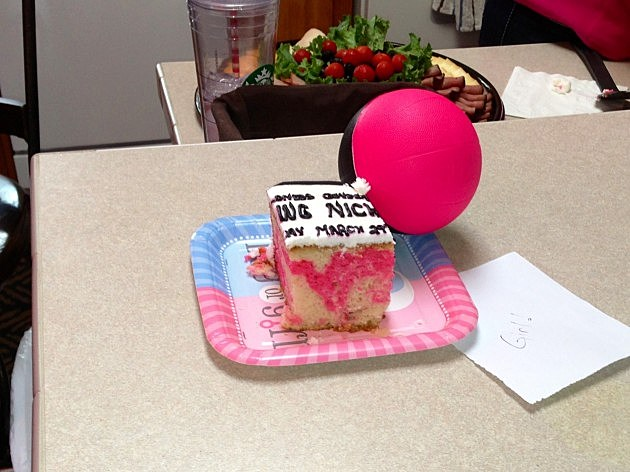 nick and kia piece of baby cake