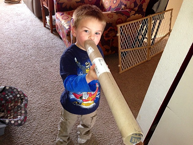 zander with tube