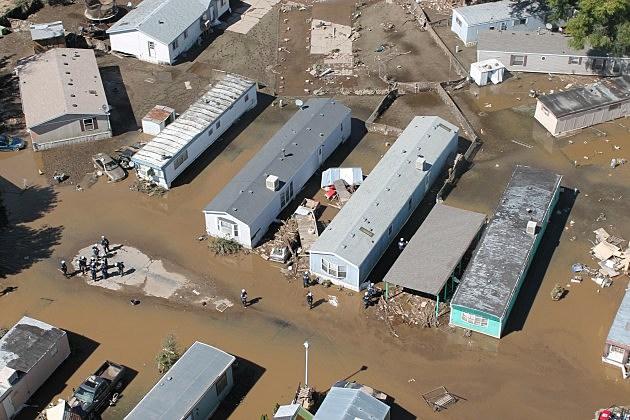 Mobile Homes in Evans - 2013 Flood