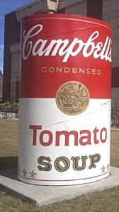 Any Warhol Soup Can on CSU Campus