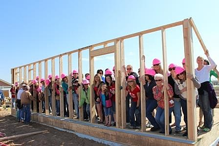 Women Build Fort Collins wall-raising