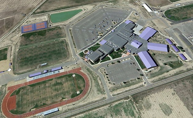 Weld Central High School in Keensburg
