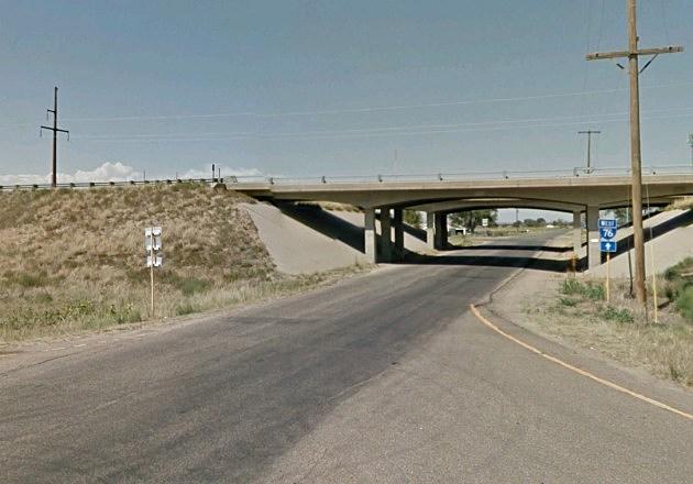 Colorado Highway 71 & I-76 at Brush, CO