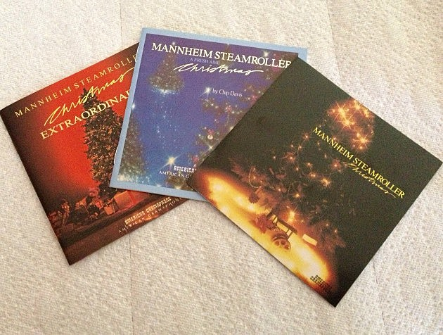 Mannheim Steamroller CDs