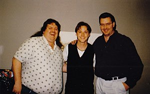 Bryan White with Brian & Todd in the mid 90s