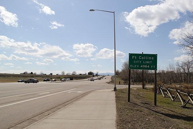City of Fort Collins Limit Elevation Sign 2