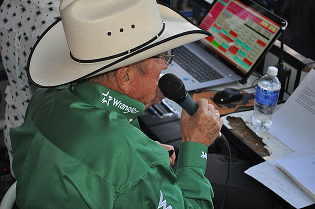 Hall of Fame Rodeo Announcer Hadley Barrett