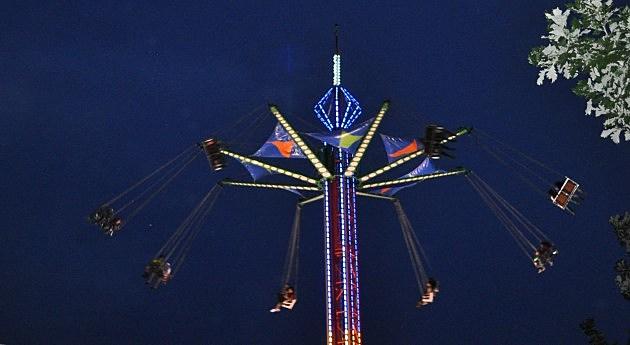Carnival ride at Greeley Stampede