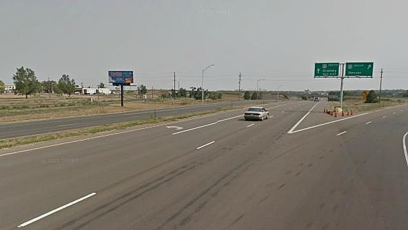 Highway 85 north of Greeley