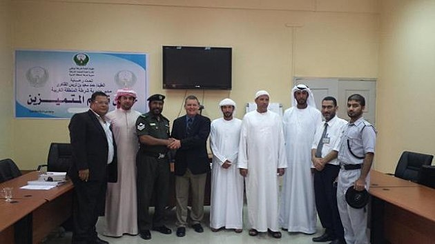 Sheriff Justin Smith on Police Training Mission in Abu Dhabi