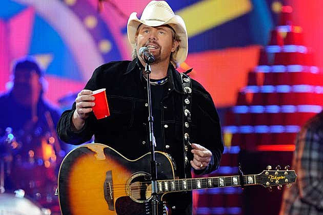 Toby Keith and his Red Solo Cup