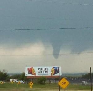 Funnel Cloud West of Cheyenne 6/25/14