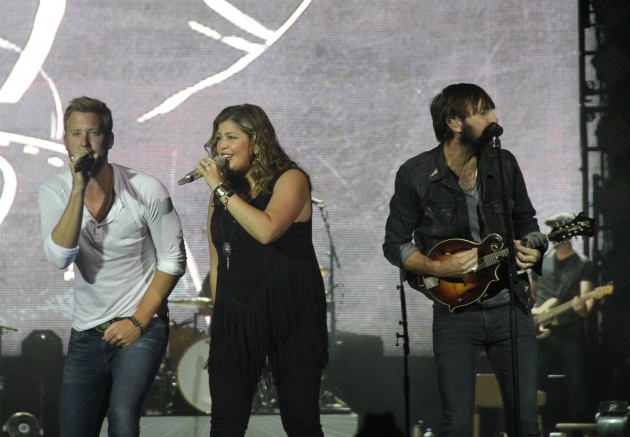 Lady Antebellum on Stage at Cheyenne Frontier Days
