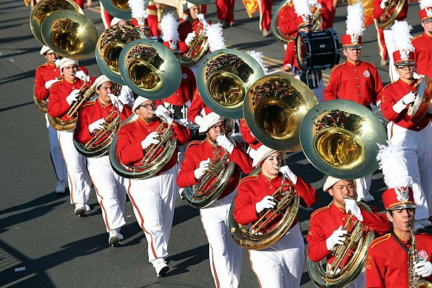 Band in Parade