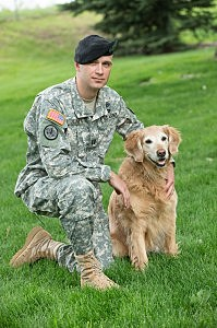 Jeff Ullmer, Army Captain and Professional Veterinary Medicine graduate,