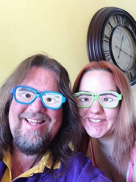 funny glasses brian and vanessa