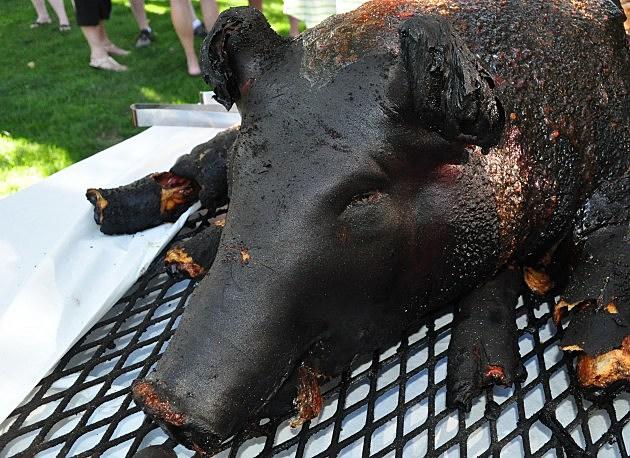 Roasted Pig's Head