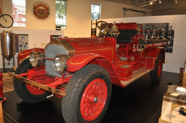 Fire Engine - For Collins Museum of Discovery