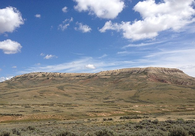 Fossil Butte National Monument near Kemmerer, Wyoming
