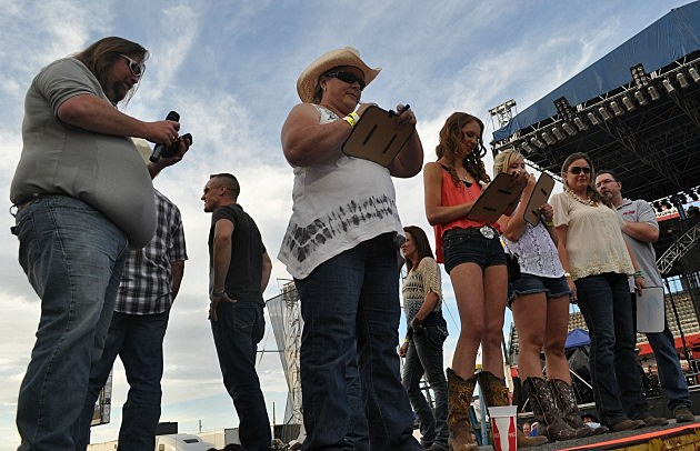 Brian & Todd Host Newlywed Game in Party Zone at Cheyenne Frontier Days