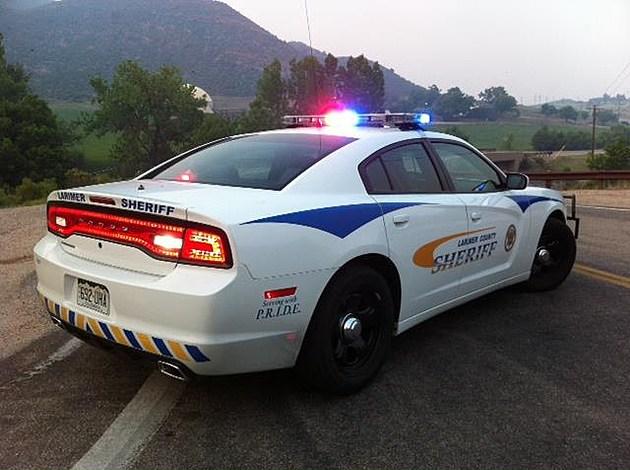 Larimer County Sheriff Vehicle Facebook