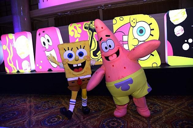 Pharrell Williams Celebrates 41st Birthday With SpongeBob SquarePants Themed